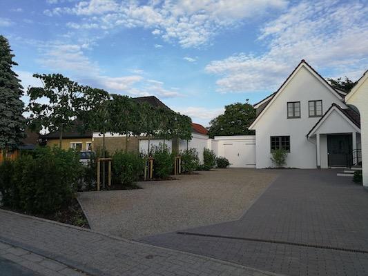 Neugestaltung Hotelgarten